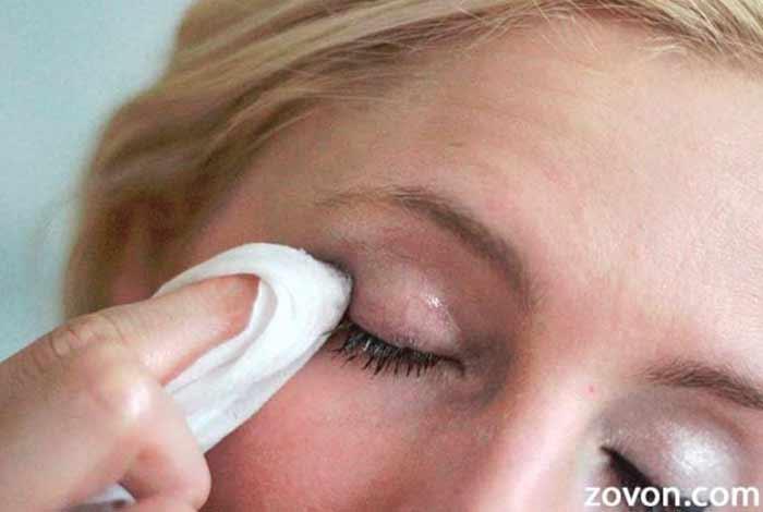 remove make up every night