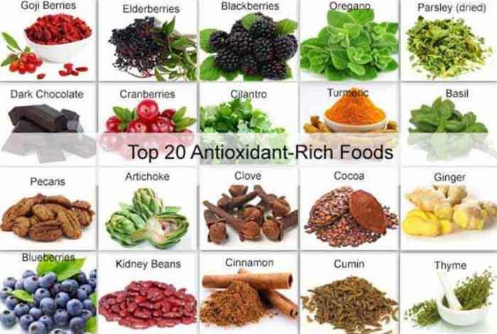 Top 20 Detox Foods