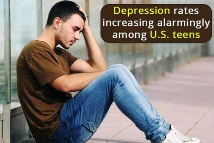 depression rates increasing alarmingly among u.s teens
