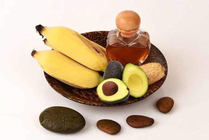 banana honey and avocado mask