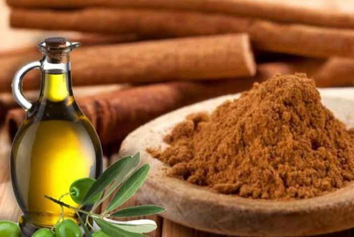 cinnamon and olive oil