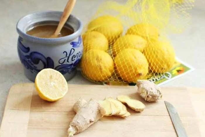 ginger lemon and honey mask