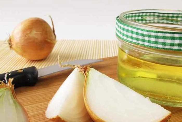 onion and honey mask