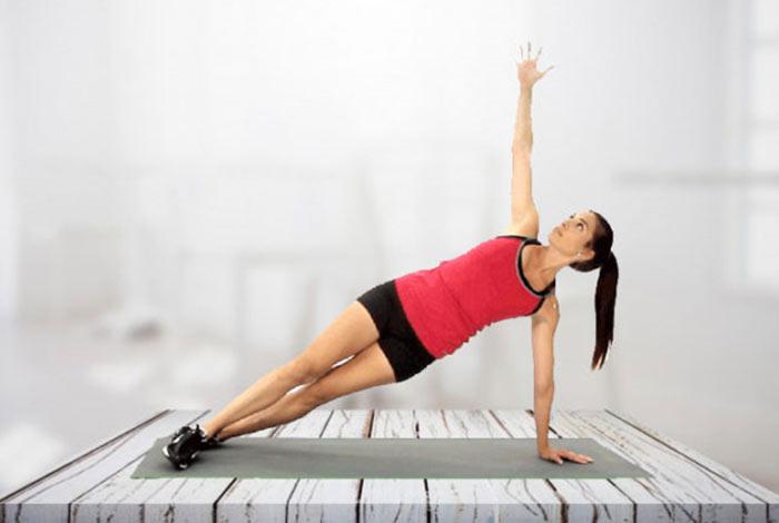 alternate side plank