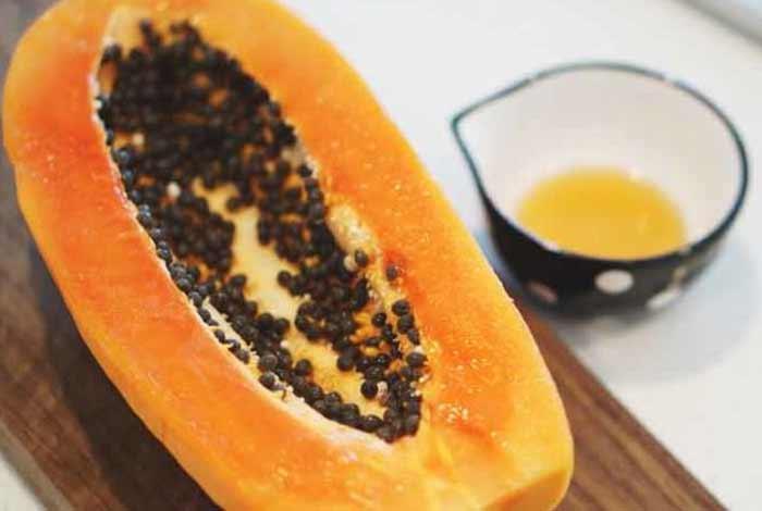 papaya and honey face mask