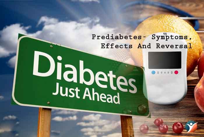 prediabetes symptoms and treatment