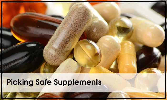 Picking Safe Supplements